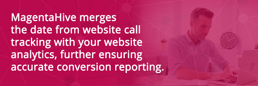 Website Call Tracking Services Offer By Magenta Hive